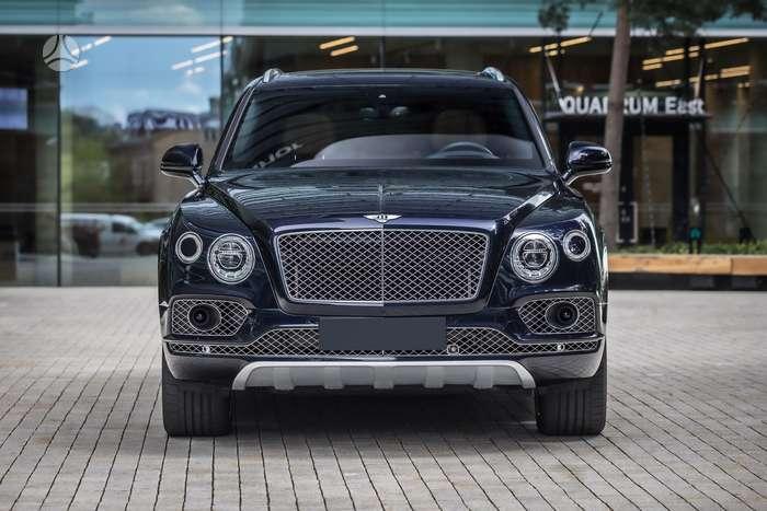 Bentley Bentayga, 6.0 l., apvidus