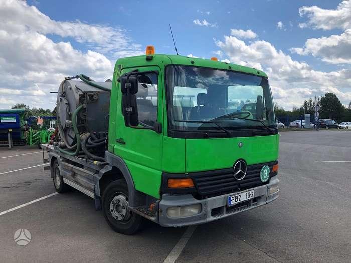 Mercedes-Benz 815, asenizacinės mašinos