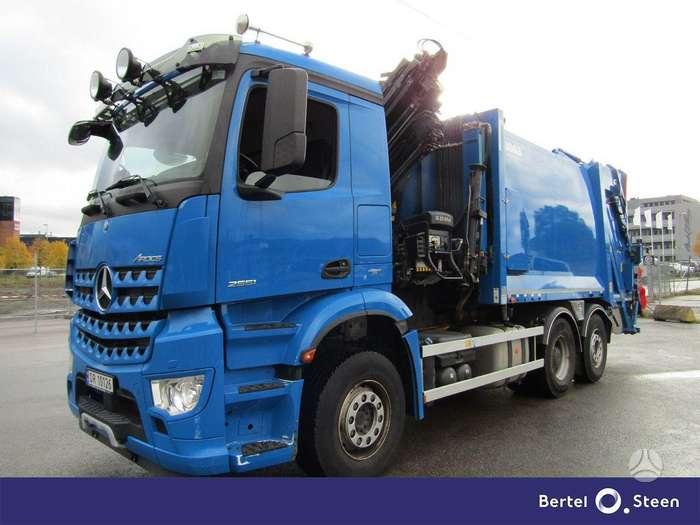Mercedes-Benz AROCS 2651, мусоровозы