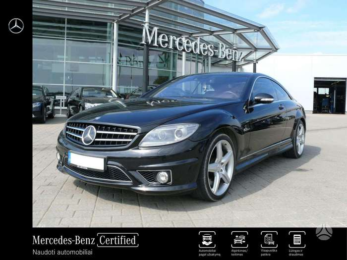 Mercedes-Benz CL63 AMG, 6.2 l., kupeja (coupe)