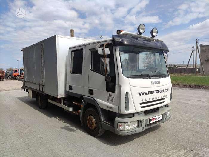 Iveco Eurocargo 80E21, tik 146767 km., сдвоенная кабина