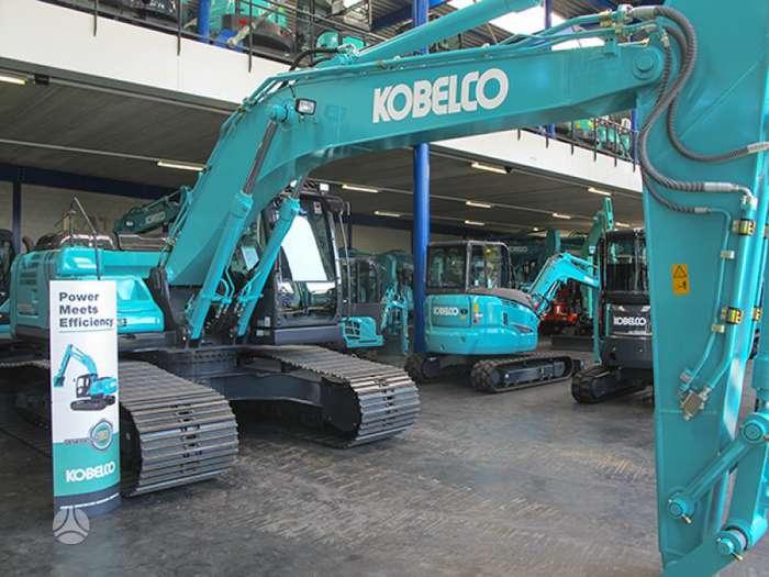 Kobelco SK210LC-10, ekskavatoriai