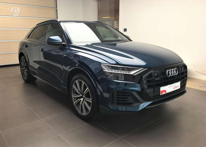 Audi Q8, 3.0 l., apvidus