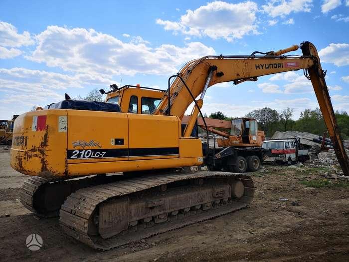 Hyundai 210 Ilgastrelis, excavator