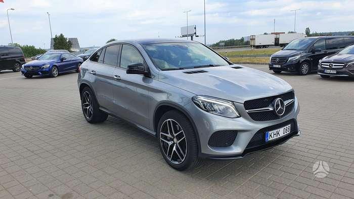 Mercedes-Benz GLE Coupe 400, 3.0 l., Внедорожник