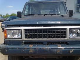 Isuzu Trooper for parts. Superkame defektuotus automobilius euro