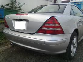 Mercedes-benz Slk320 dalimis. Automobyliai