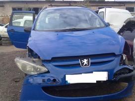 Peugeot 307 dalimis. Automobyliai dalimis