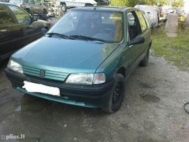 Peugeot 106 dalimis. Iš prancūzijos. esant