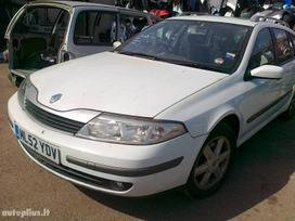 Renault Laguna dalimis. Dalis galime