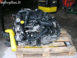 Opel Vivaro dalimis. Opel vivaro, renault