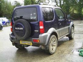 Suzuki Jimny. Vairas dešinėje  darbo laikas