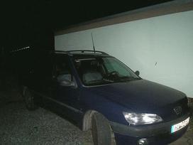 Peugeot 306 dalimis. Lietuvoje neeksploatuotas.