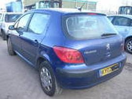 Peugeot 307 dalimis. Yra ir kombi 1.4hdi.lietuvoje