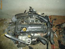 Opel Astra variklio detalės