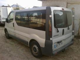 Renault Trafic dalimis. Europa.keleivinis