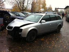Audi A6. Quattro, odinis salonas, tiesiogines
