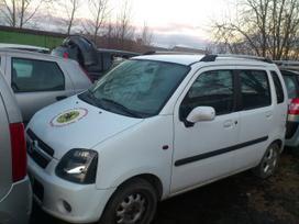 Opel Agila dalimis. Iš prancūzijos. esant