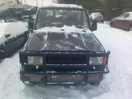 Isuzu Trooper for parts. Dalimis - isuzu trooper 1991 2.6l