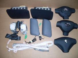 Peugeot 107 подушки безопасности