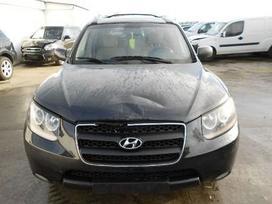 Hyundai Santa Fe. Be motoro ir dezes!