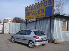 Peugeot 206. Dalimis turime daugiau pezo 206.