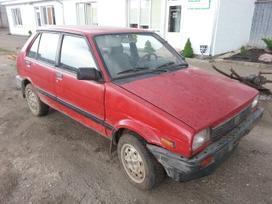 Subaru Justy dalimis. 4x4 prekyba