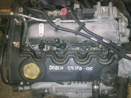 Fiat Doblo. 1,9 jtd geras variklis  yra