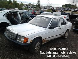 Mercedes-benz 190 dalimis. Automobiliu dalys