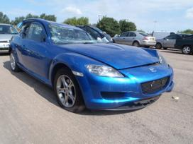 Mazda Rx-8 dalimis. Is anglijos, srs, abs,