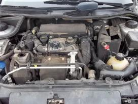 Peugeot 206 dalimis. 1.4 hdi  yra gryze