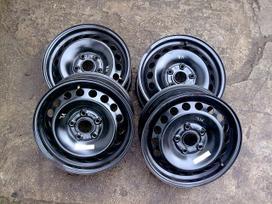 Mercedes-benz Original, plieniniai štampuoti, R15
