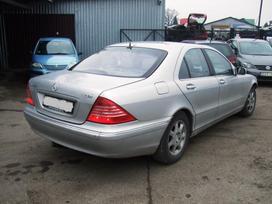 Mercedes-benz S klasė. Dalimis 320 cdi dar