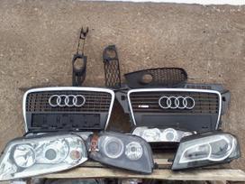 Audi A3. Pr.buferiai, pr. grotelės,pr.
