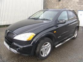 Ssangyong Kyron dalimis. Is anglijos, srs,