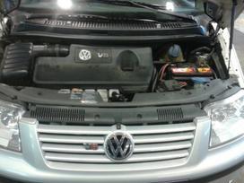 Volkswagen Sharan dalimis. 4 motion  europa iš šveicarijos(ch)
