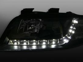 Audi A6. Audi a6 priekiniai tuning žibintai
