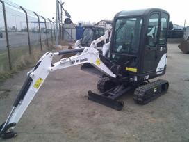 Bobcat S250, statybos transporto nuoma