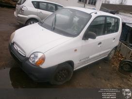 Hyundai Atos dalimis. Automobilis ardomas