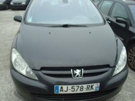 Peugeot 307. Europa r-17 ratlankiai tel 85