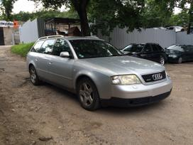 Audi A6. Quattro, odinis salonas, europine,