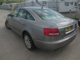 Audi A6. Variklis dalimis bose aparatura