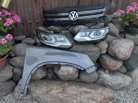 Volkswagen Tiguan. Priekinis buferis, sparnai