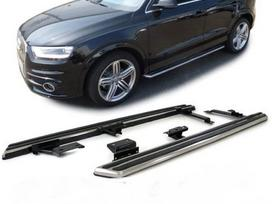 Audi Q3. Naujos tuning dalys. šoniniai