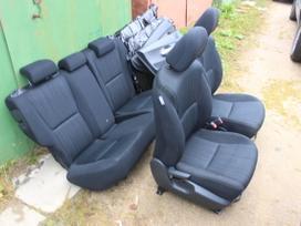 Toyota Auris durų apmušalai, sėdynės