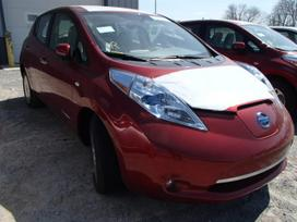 Nissan Leaf. Skendes, tik galine dalis