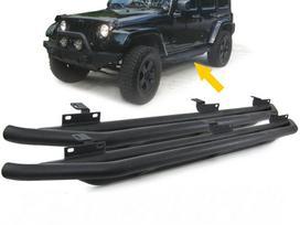 Jeep Wrangler. Tuning dalys.soniniai juodi
