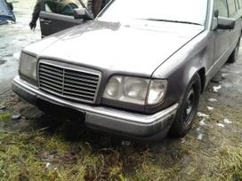 Mercedes-benz 124 dalimis. Superkame