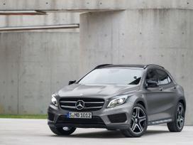 Mercedes-benz Gla klasė. Naujų orginalių