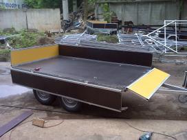 Baltic trailer B2k-2500x2u, lengvųjų